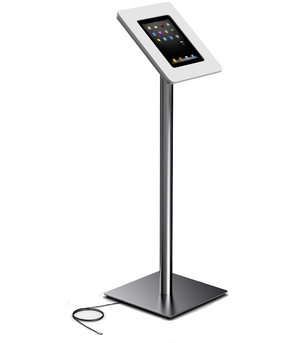 Apple iPad floor stand iTop twist 1 WH  800